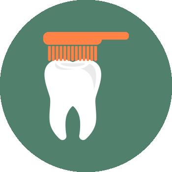 Чистка зубов в клинике СлавДент